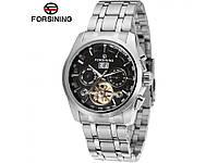 Неповторимые стильные мужские часы на руку Forsining Parus. Стильный дизайн. Отличное качество.  Код: КГ955