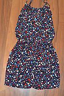 Летние комбинезоны шорты для девочек,размеры 116-146 см.фирма S&D.Венгрия