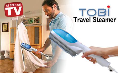 """Щетка-отпариватель одежды Tobi (Тоби) Steam Brush, ручной отпариватель для одежды Tobi Brush - Интернет магазин """"Portal24"""" в Чернигове"""