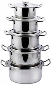 Кастрюли набор 5шт, кухонная посуда