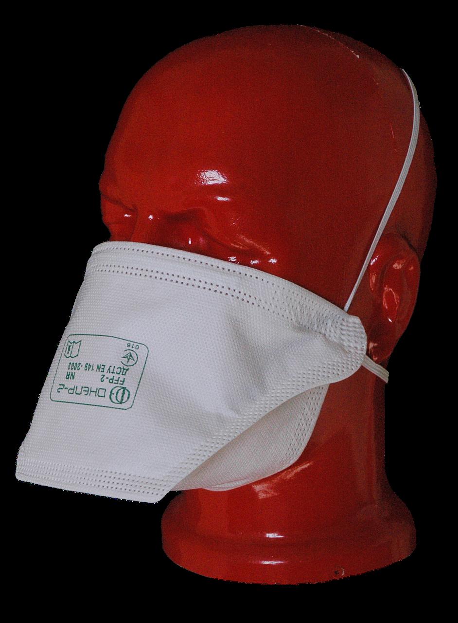 Маска-респиратор Днепр-1 FFP1  - Снабжение средствами защиты Трайдент - рабочие перчатки, одноразовая одежда  в Черкассах
