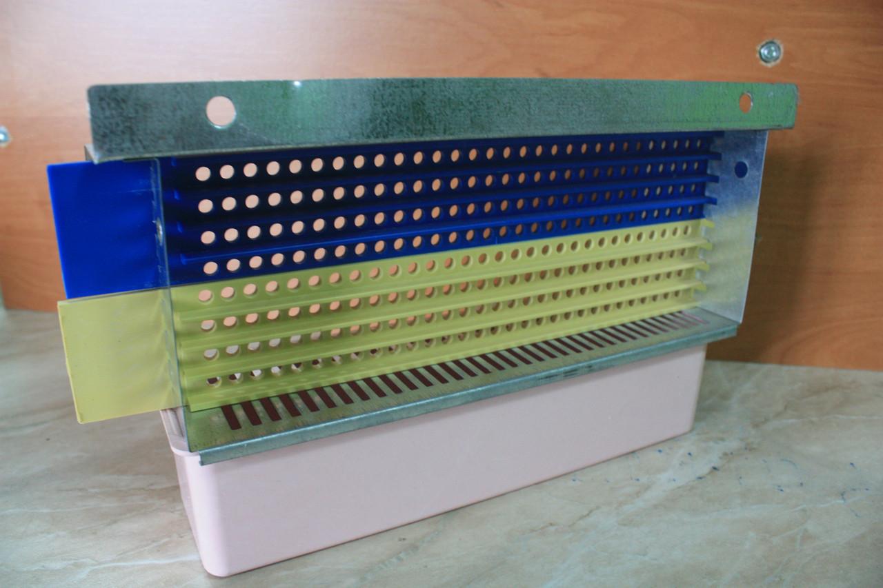 Пыльцесборник оцынкованый корпус 240 отверстий