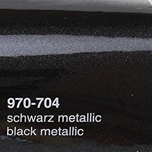 Чорна плівка металік Oracal 970 RA 704, фото 2