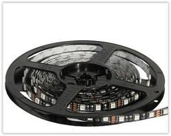 Светодиодные LED ленты на черной основе без влагозащиты