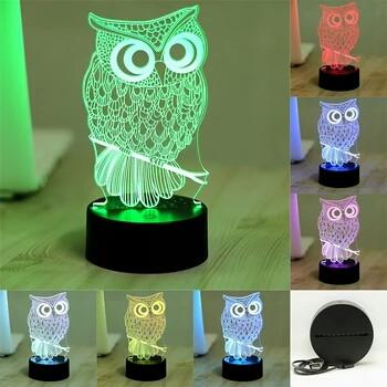Новое направление детские 3D светильники