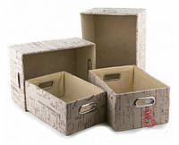 Набор коробок для хранения (4 шт.)