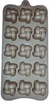 7152 шоколад / Лед 12 шт 20*12*2см, кондитерские принадлежности