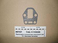 Прокладка коллектора впускного КАМАЗ (домик)