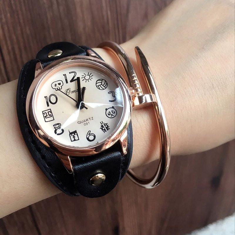Часы женские наручные Image black
