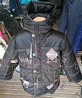 Демисезонная куртка на флисе для мальчика (рост 122-134)