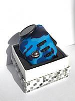 Игрушка Fidget Cube - антистрессовый кубик(Хаки синий)