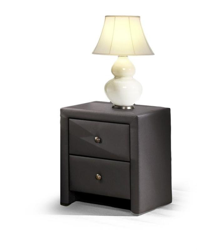 Тумба прикроватная Prima( 2 цвета: белый, черный) (Halmar)