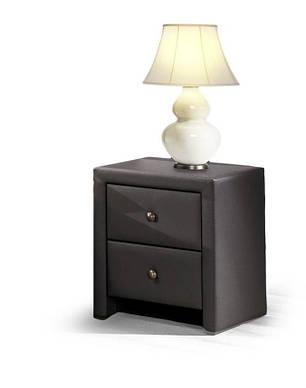 Тумба прикроватная Prima( 2 цвета: белый, черный) (Halmar), фото 2