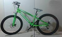 Горный спортивный велосипед 24 дюймов Azimut Extreme G-1 (оборудование SHIMANO)салатовый ***