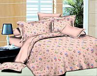 """Ткань для постельного белья Поплин набивной """"Leone"""" L-Pink (60м)"""
