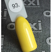 Гель лак Oxxi №093(желтый с микроблеском),8 мл