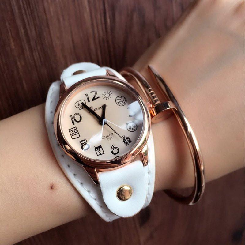 Часы женские наручные Image white