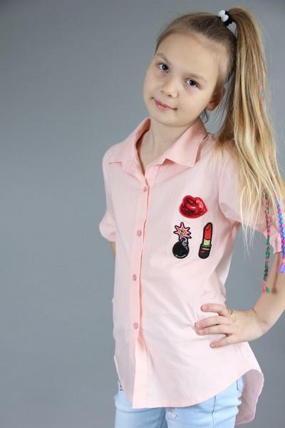 Модні сорочки для дівчинки