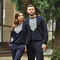 Костюм мужской и женский комбинезон с вышивкой, фото 1