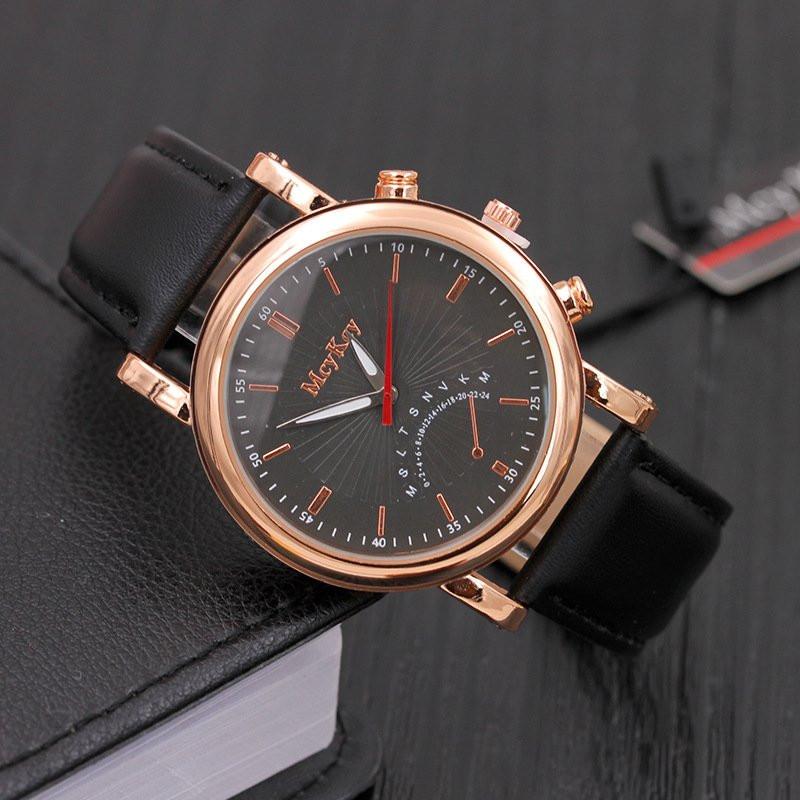 Часы мужские наручные Mr. Key black