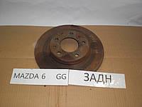 Б.У. диск тормозной задний Mazda 6 GG 2003-2007 Б/У
