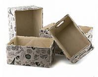 Декоративные ящики для хранения (4 шт.)