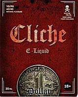 Жидкость для электронных сигарет Cliche Dollar
