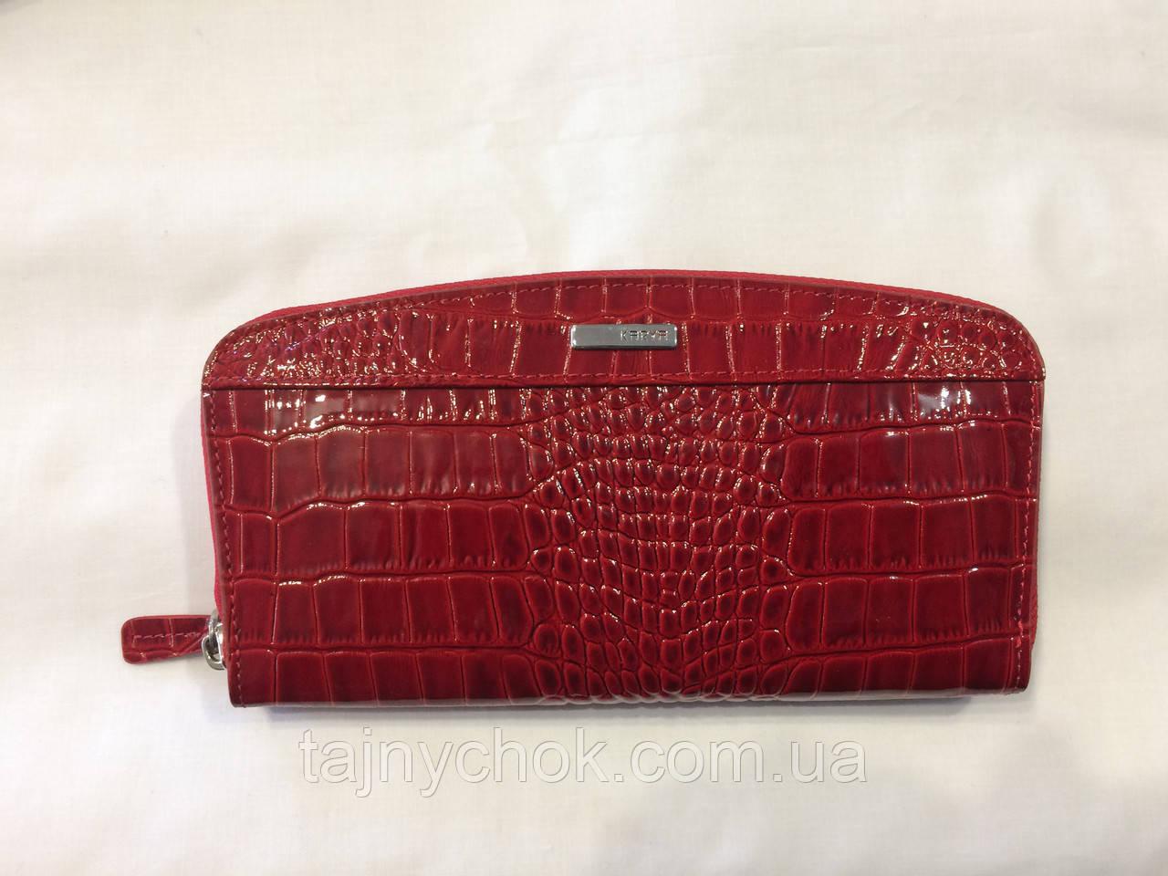 347bb04db2c9 Красный лаковый Кошелек Karya, цена 750 грн., купить в Одессе — Prom ...