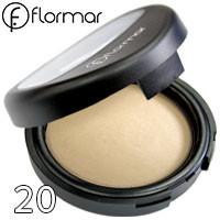 FlorMar - Пудра компактная запеченная для лица TerraCotta Powder Тон 20 soft beige матовая