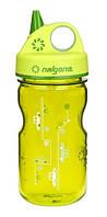 Бутылка для воды детская NALGENE Grip'n Gulp 350 ml Spring Green /Cars Art