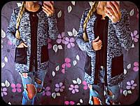 Красивый с накладными карманами ( 4 цвета )