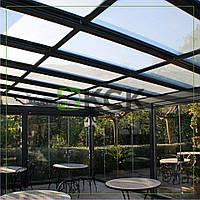 Раздвижная стеклянная крыша