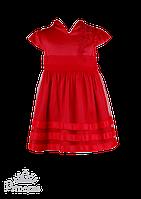 Красное платье в восточном стиле