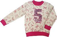Кофта свитшот на девочки  Турция размер 110 116