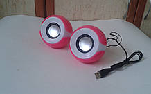 Колонки для ноутбука, ПК, телефону (6 Вт) USB