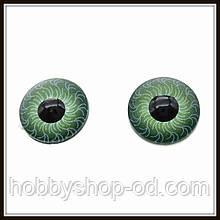 Очі для ляльок зелені (діам. 12 мм)