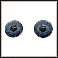 Глазки для кукол серые (диам. 12 мм)