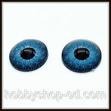 Очі для ляльок блакитні (діам. 12 мм)