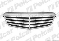 Решетка хром/сер Mercedes E-Class W212 09-16