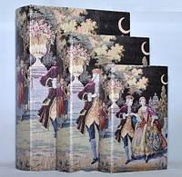 """Книга-шкатулка """"Танец"""" на магните набор 3в1 330-9"""