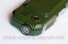Противоударный LAND ROVER Newmind F6000 - 2 Sim  2600 mAh  green, фото 3