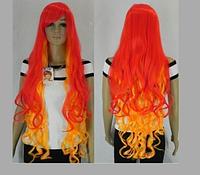Красивый парик. Волнистые волосы