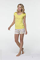 Женская трикотажная пижама брюки и футболка HAYS 6510. Коллекция домашней одежды HAYS 2017