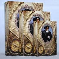 """Книга-шкатулка """"Колумб"""" на магните набор 3в1 330-9"""