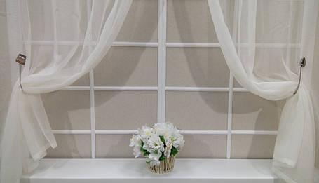 Тюль для кухонного окна, Лён, фото 2