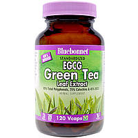 Bluebonnet Nutrition, Herbals, EGCG Green Tea Leaf Extract, 200 mg, 120 Vcaps, купить, цена, отзывы