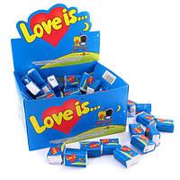 """Жвачка """"Love is..."""" блок 100 шт"""