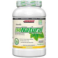 ALLMAX Nutrition, IsoNatural, 100% Ultra-Pure Natural Whey Protein Isolate (WPI90), Banana, 2 lbs (907 g), купить, цена, отзывы