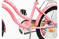 Велосипед Profi L1891, розовый, d колес - 18 дюймов , фото 1