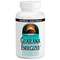 Source Naturals, Энергетик с гуараной, 60 таблеток, купить, цена, отзывы